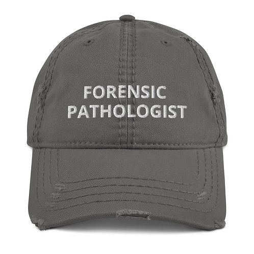 Forensic Pathologist Distressed Hat