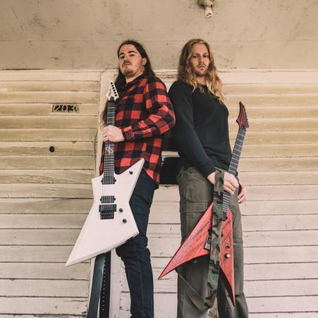 Ben, David, and Phil Sign Endorsement Deals with Solar Guitars!!!
