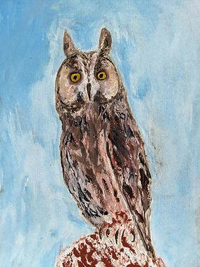 Owl - Peter Waine - As I go a wandering.