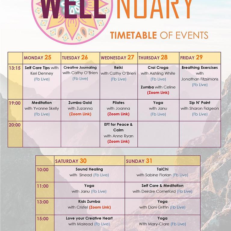 Wellnuary - Wellness Week at Moat Theatre