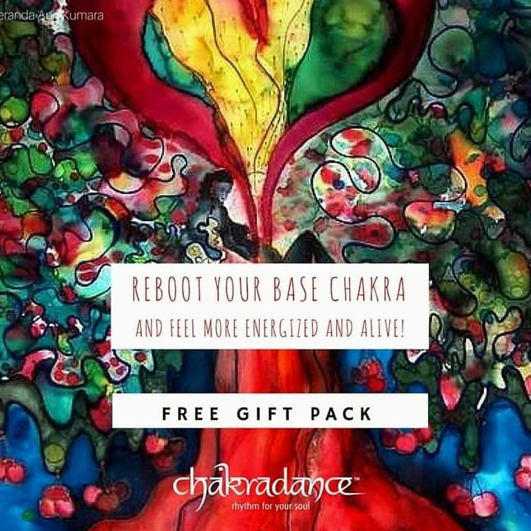 Free Gift Pack-Reboot Your Base Chakra