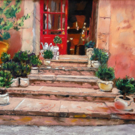 La Porte Rouge a Roussillon