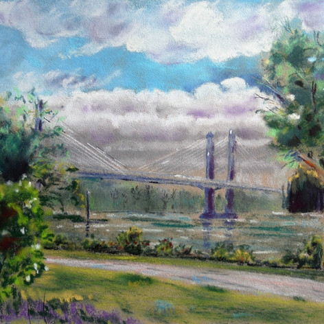 Golden Ears Bridge, Pitt Meadows/Maple Ridge, B.C.