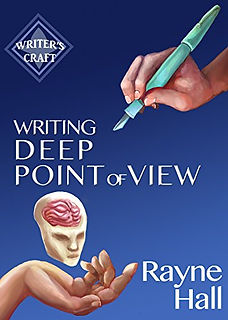 Rayne Hall - Writing dark stories book cover