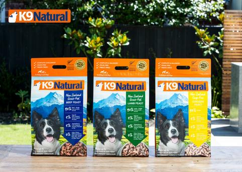K9 Natural Freeze Dried Range