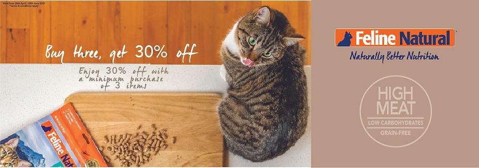 Howlistic Life Sale Banner (Feline Natur