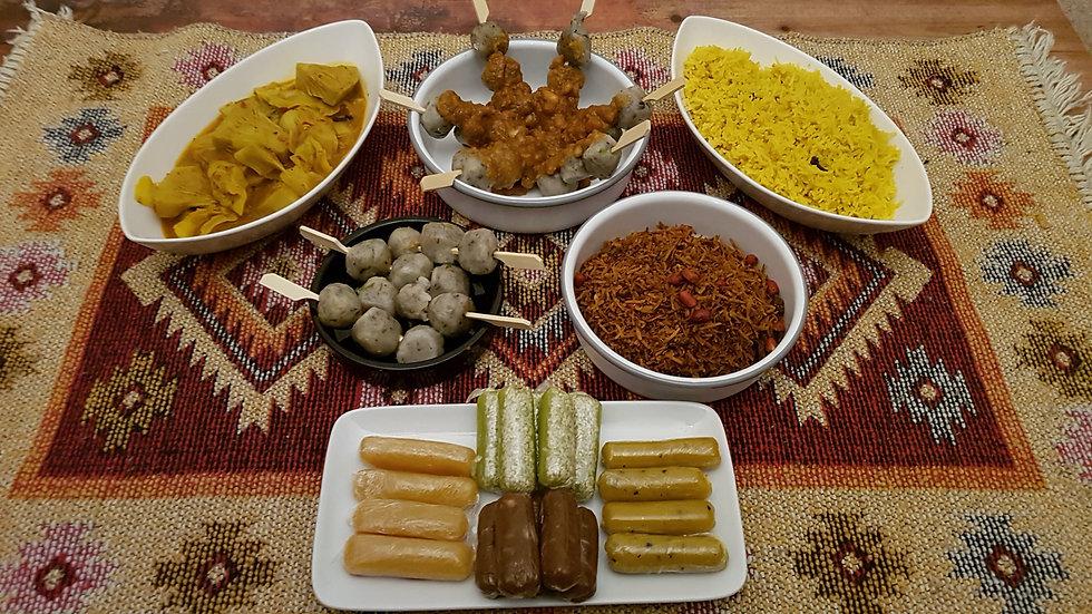 IFTAR 2021 SET MEAL FOR 2 - Halal / Vegan