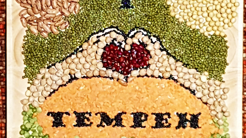 2-Kind of Beans Tempeh or 3-Kind of Beans Tempeh, 200gr