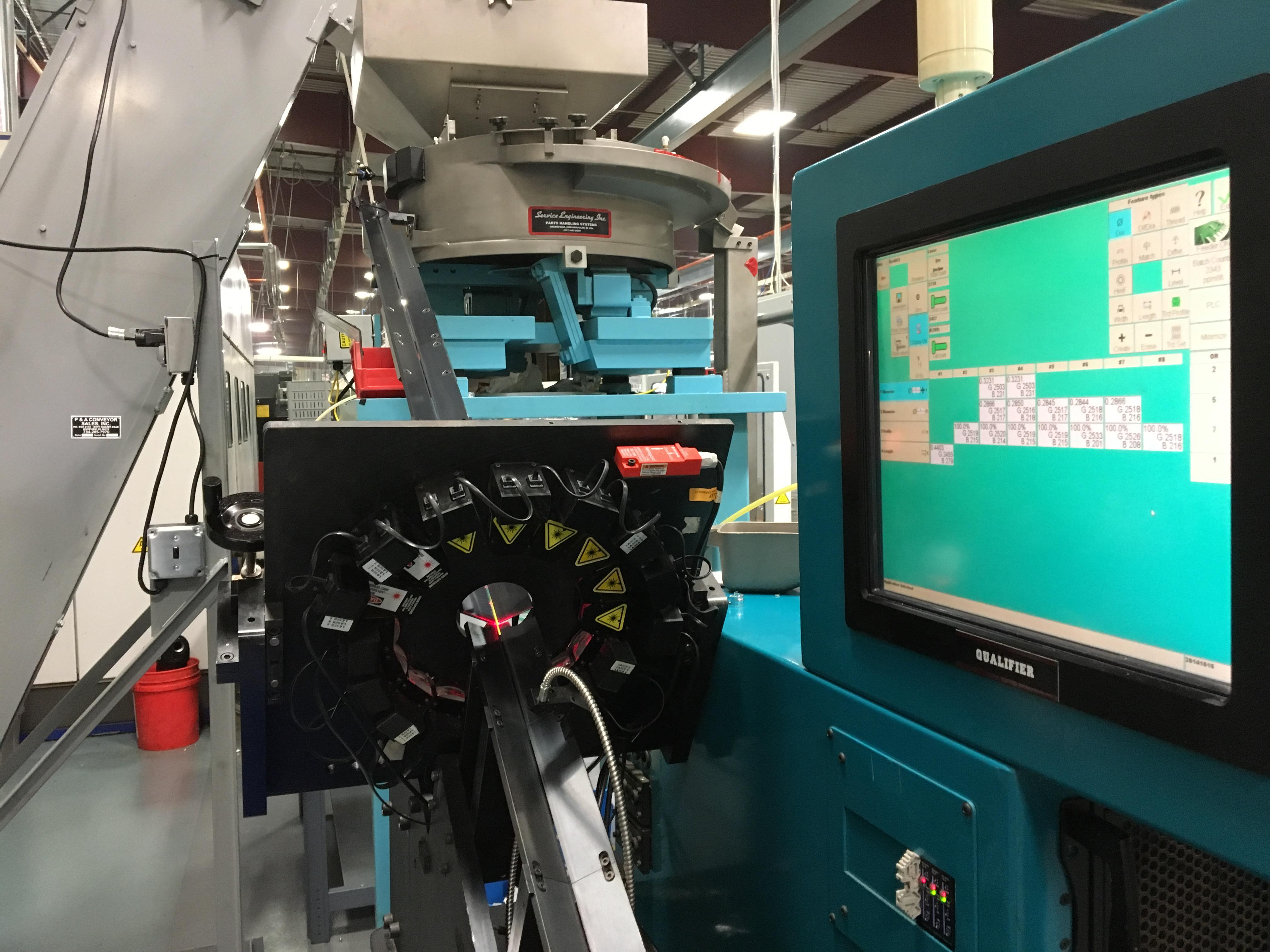 Mechtron Inspection Machine