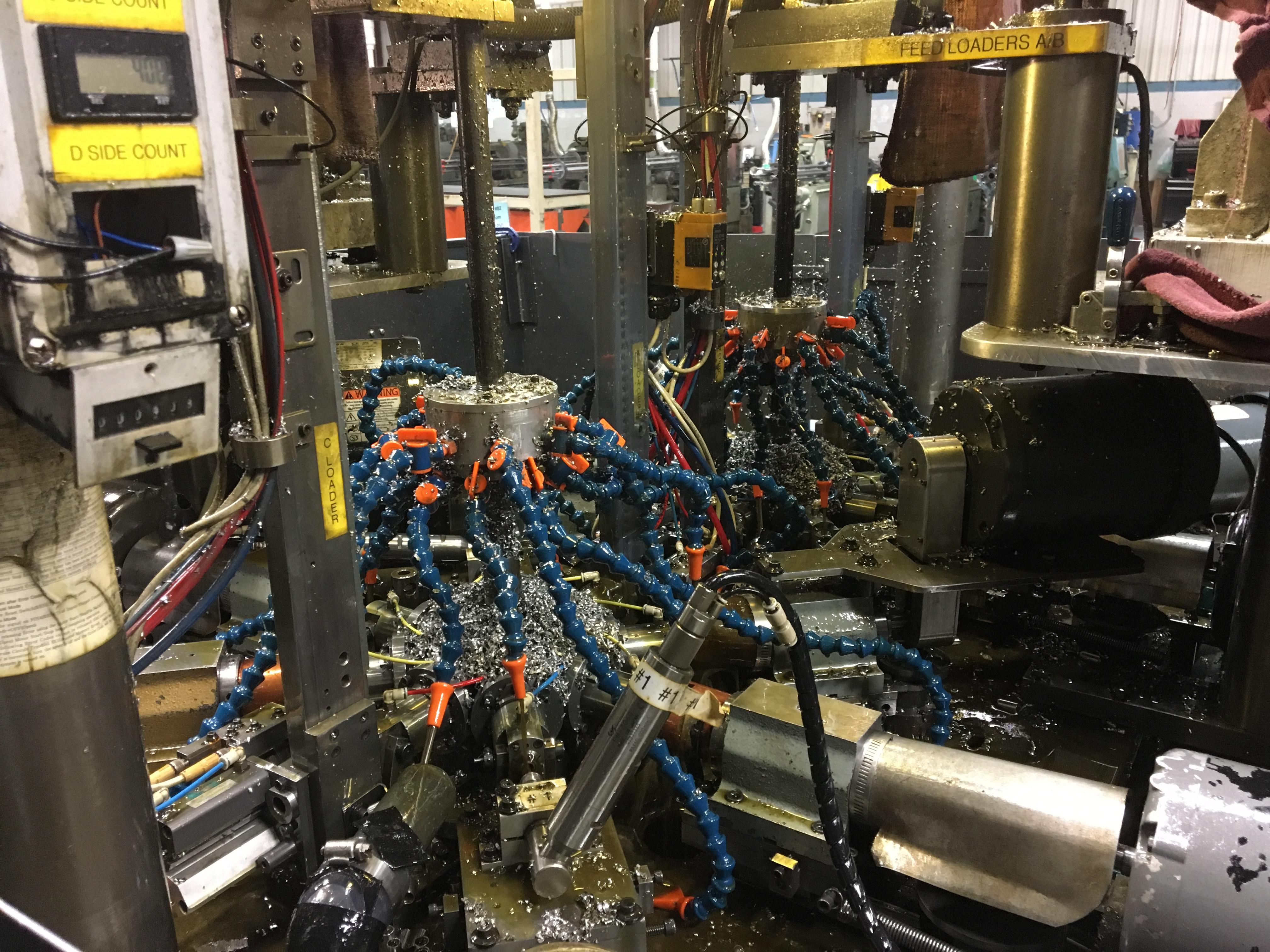 LTC-built Secondary Machine