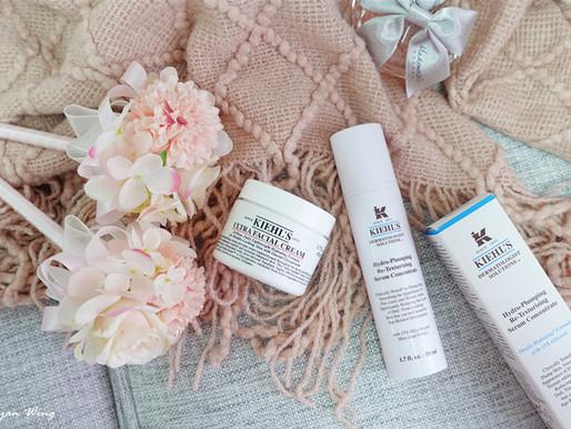 |護膚の享|對抗秋冬口罩敏感肌神器 ⇪ Kiehl's醫學保濕導入精華+特效保濕乳霜