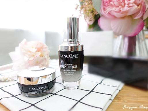  護膚の享 全面擊退歲月痕跡 ✦ Lancôme升級版嫩肌活膚精華+發光眼霜