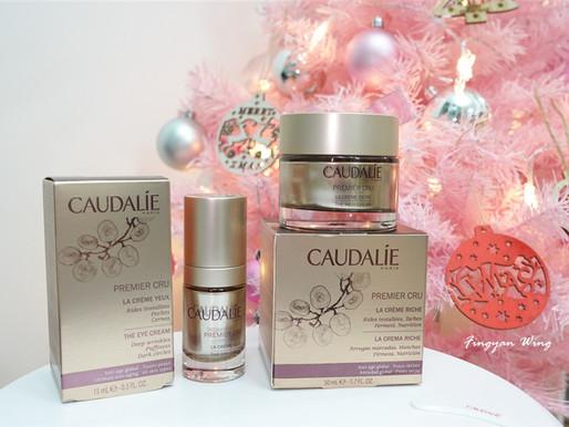|護膚の享|天然抗老修復肌膚充電器 ↺ CAUDALIE Premier Cru 葡萄籽尊貴時光逆轉滋養潤澤露及眼霜