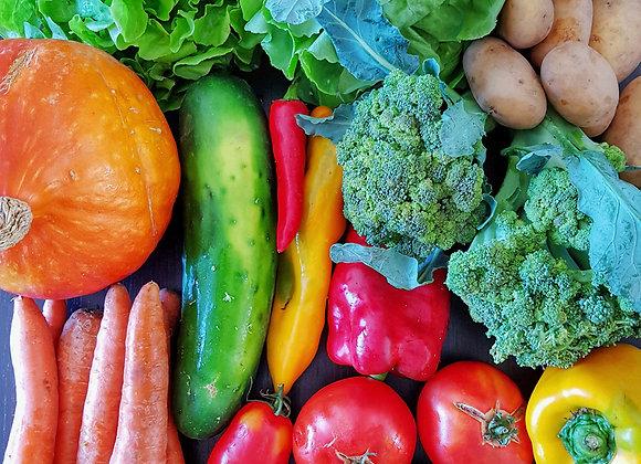 Saisonale Früchte und Gemüse im Wert von 25.-