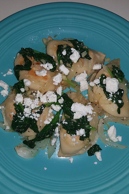 Spinach Feta and Potato