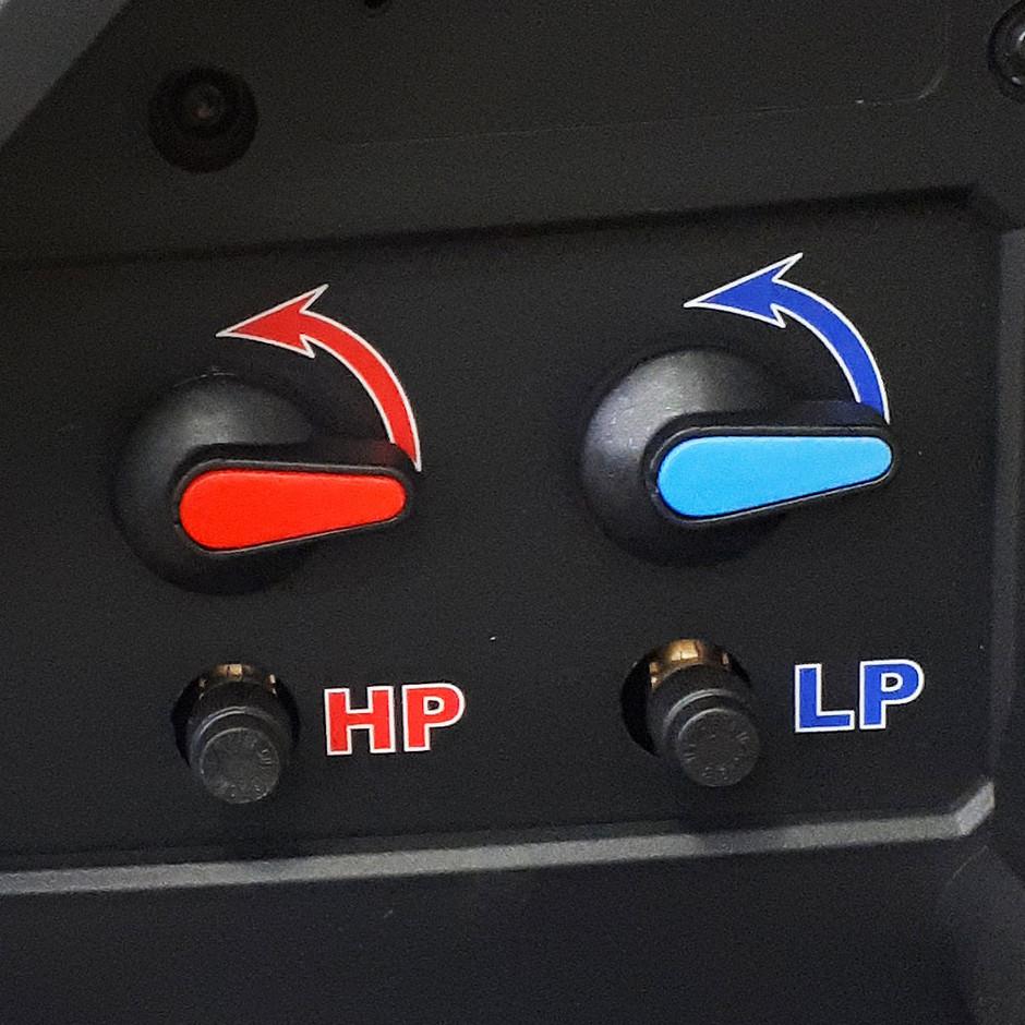 Клапаны высокого и низкого давления