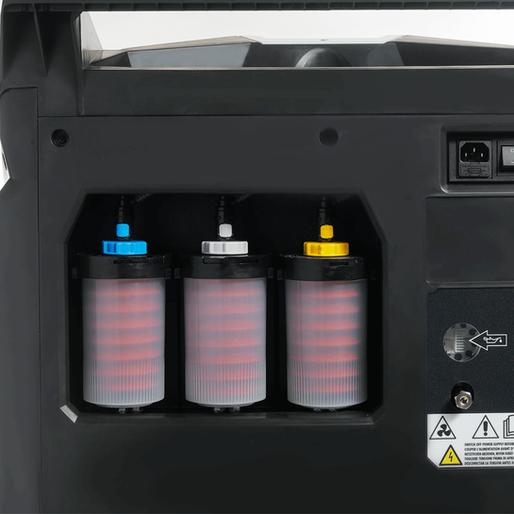 Автоматический впрыск масла PAG, POE и краски UV. Электронные весы.