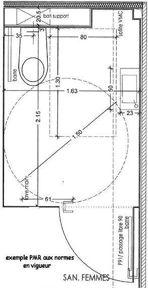 cabines sanitaires PMR en stratifié compact  CABSAN SAS