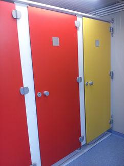 cabines sanitaires, casiers vestiaires métallique CABSAN