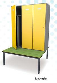banc stratifié  compact CABSAN - bancs pour collectivité CABSAN FRANCE