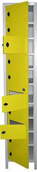 vestiaires et casiers CABSAN en métal ou en stratifié compact