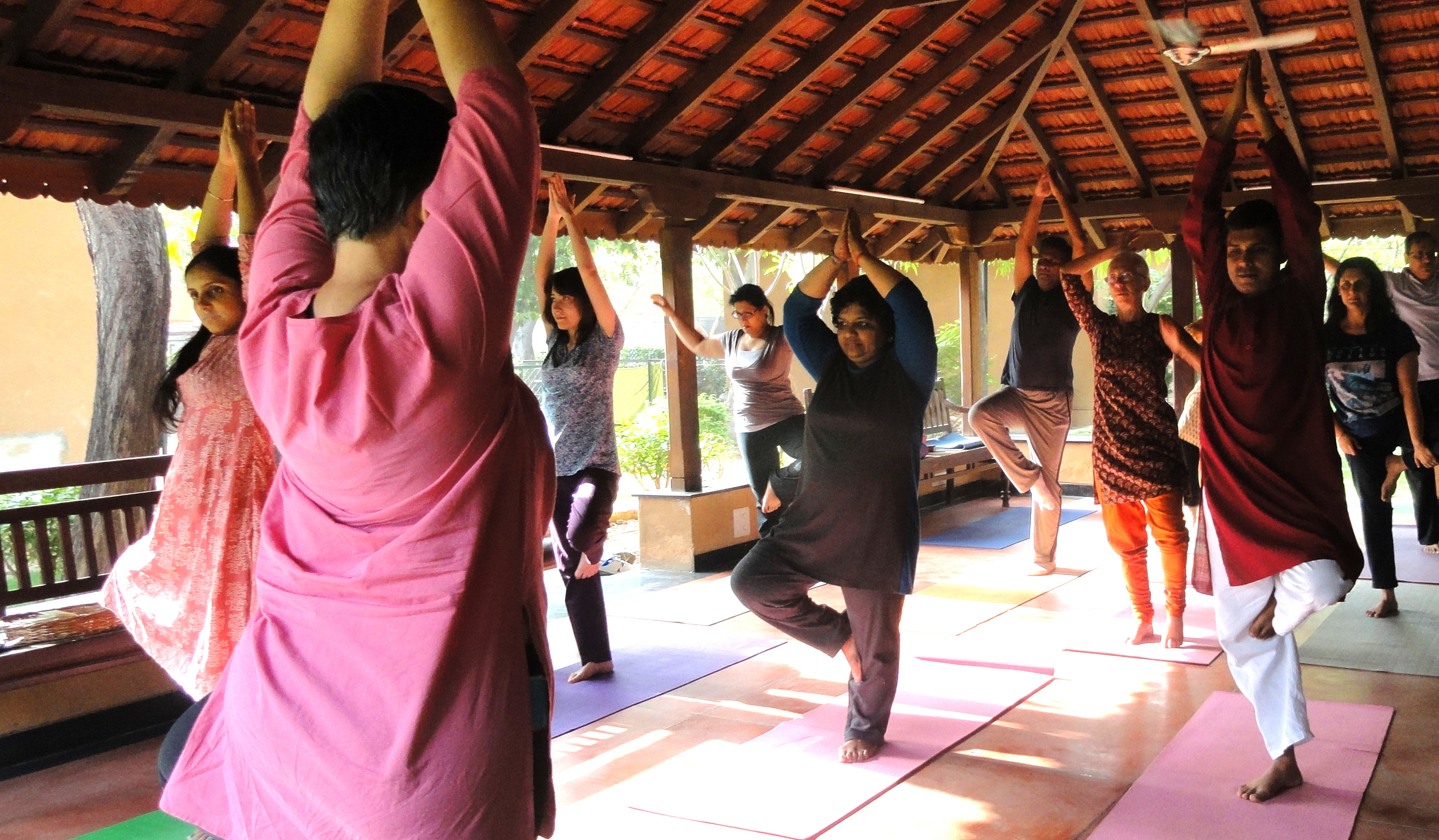 Yoga asanas to assist musicians
