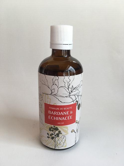 Vinaigre de beauté Bardane et Échinacée 100 ml