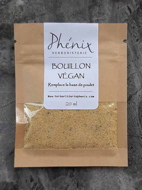 Échantillon de Bouillon Végan 20 ml
