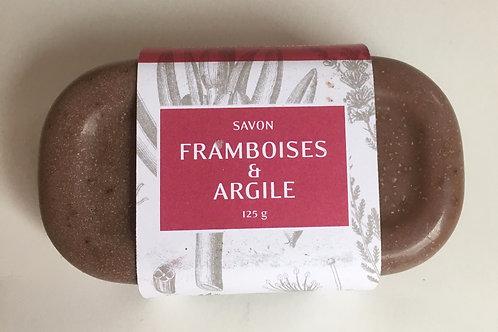 Savon Framboises et Argile Rouge 125 g