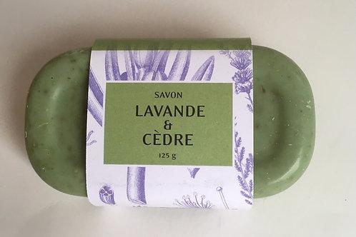 Savon Lavande et Cèdre 125 g