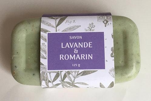 Savon Lavande et Romarin 125 g