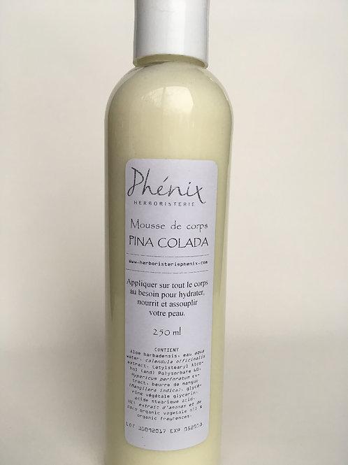 Mousse de corps Pina Colada 250 ml