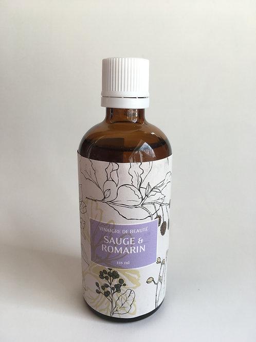 Vinaigre de Beauté Sauge et Romarin 100 ml