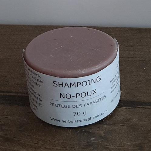 Shampoing barre No-Poux 70g