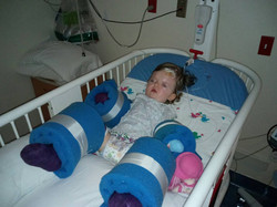 Laurka - after her surgery_