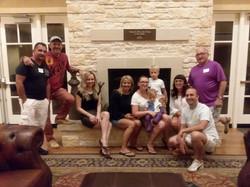 SBH Foundation volunteers- Last evening with Adam Kerner family
