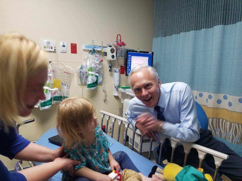 Zoya - Dr Fearon hospital visit