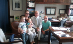 Kerner family - Dr Fearon office_