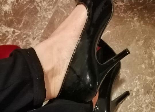 Scarpe indossate DARK LADY
