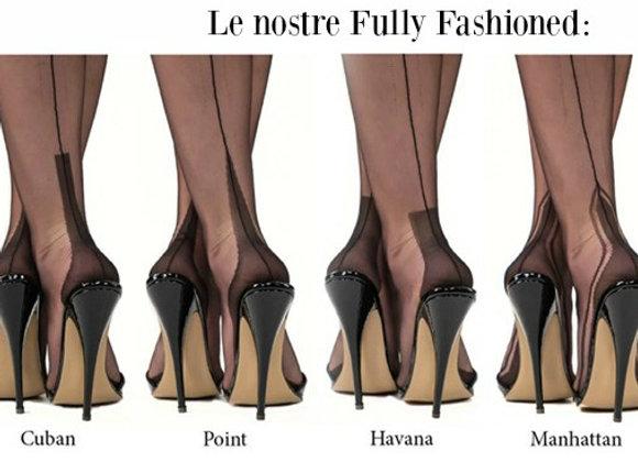 Calze Fully Fashioned Manhattan Heel