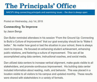 NAESP: The Principal's Office