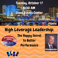 High Leverage Leadership: The Happy Secret to Better Performance Presentation