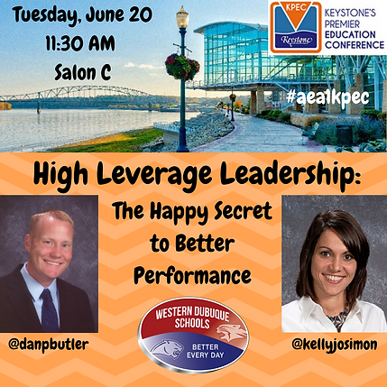 High Leverage Leadership: The Happy Secret to Better Peformance Presentation