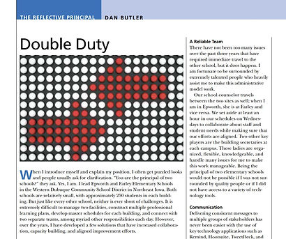 Double Duty by Dan Butler