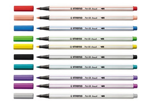 Stabilo Pen 68 Brush - Individual