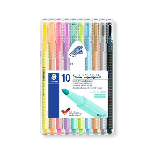Staedtler Triplus Highlighter c/10