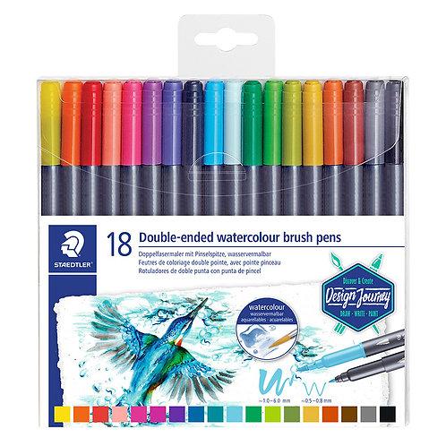Staedtler Marsgraphic Brush Pens  c/18