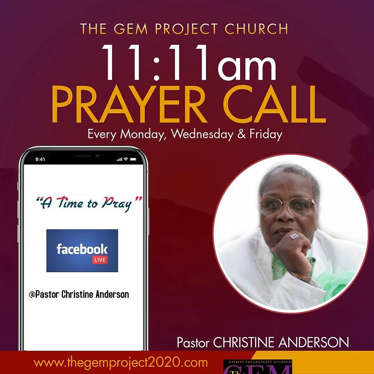 11:11 Prayer Call