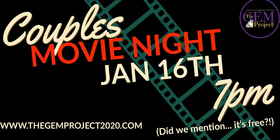 Couple's Movie Night