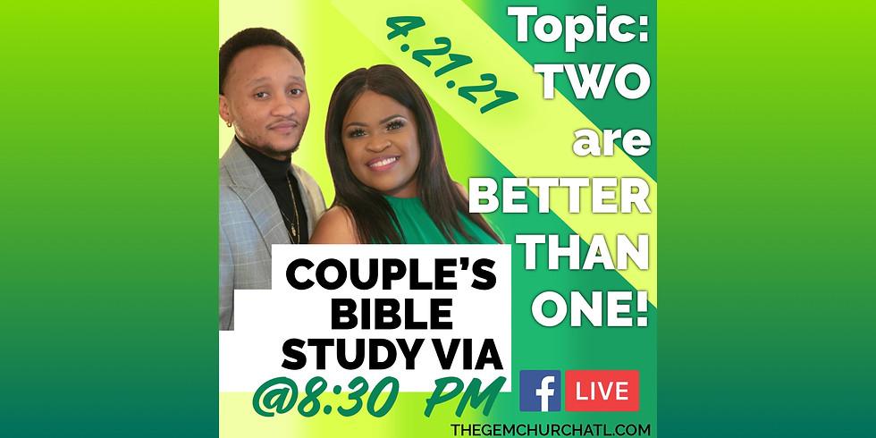 Couple's Bible Study